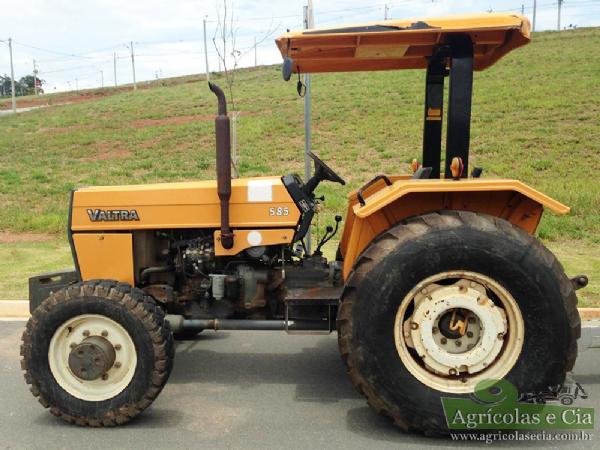 Trator Valtra 585 4x4 (Único Dono - Todo Original!)