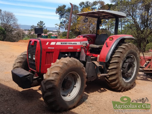 Trator Massey Ferguson 292 4x4 Advance (Todo Original!)