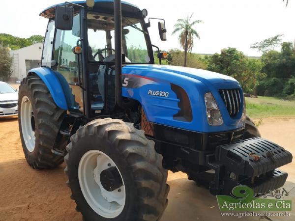 Trator LS Tractor Plus 100 4x4 (Reversor + Redutor - Motor MWM)