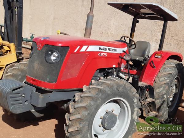 Trator Massey Ferguson 4275 4x4 (Todo Original)